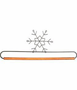 Dekobügel, Quilt Hänger `Schneeflocke` 12 Inch / 30,5 cm
