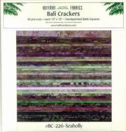 Bali Crackers BC 226 Seaholly - Batik Stoffe von Hoffman Fabrics