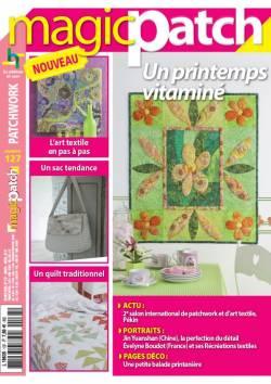 Patchwork Magazin Magic Patch 127 - Un printemps vitaminé