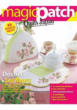 Patchwork Magazin Magic Patch Quilts Japan No.17 - Les fleurs