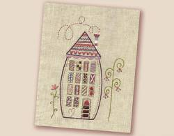 Stickbild Nr.429 Dans ma rue-N°2 grosses Haus