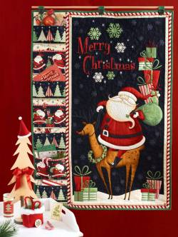 Materialpackung *Christmas Greetings* Wandquilt für Weihnachtspost V1