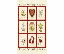 Patchworkstoff Weihnachten Panel All Things Christmas