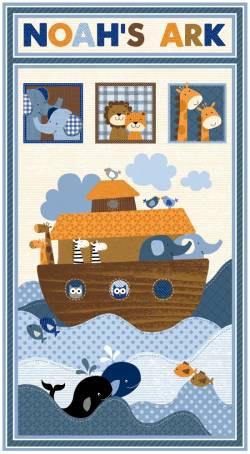 Patchworkstoff Quilt Stoff Noahs Story by Swizzle Stick Studio PANEL