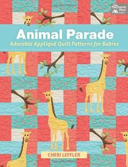 Buch Animal Parade von Cheri Leffler mit wunderschönen Applikationen