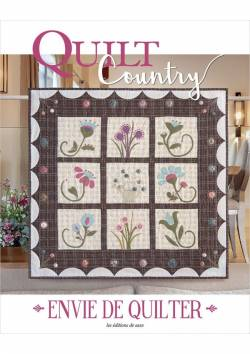 Patchwork Magazin Quilt Country 56- Envie de quilter