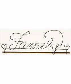 Dekobügel, Quilt Hänger Family 40,6 cm / 16 Inch