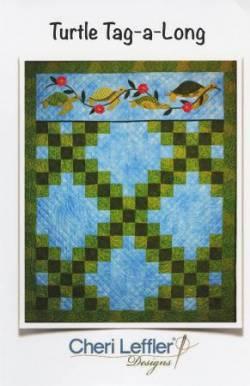 Nähanleitung Quilt *Turtle Tag-a-Long* in Englisch von Cheri Leffler