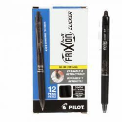Markierstift Frixion Clicker Pen Black Fine Point 0.7mm 1 Stück