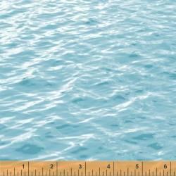 Patchworkstoff Quilt Stoff Landscapes Wasser Wellen WF50206