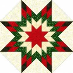 Nähanleitung Stern Sparkle Suede grün rot