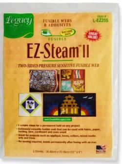 Legacy EZ-Steam II, beidseitig haftende Bögen 5 St. a` 23 x 30cm