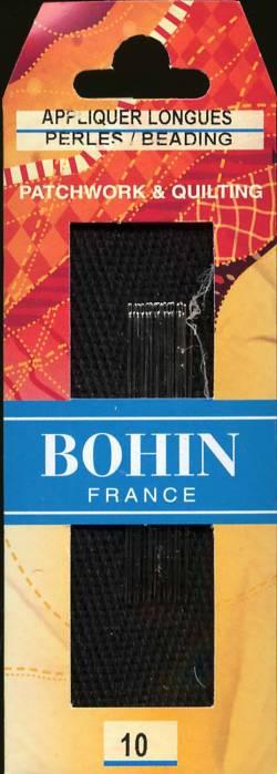Bohin Applique Long Needles Size 10 - Nadeln zum Applizieren Größe 10