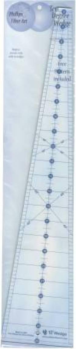 10 Grad Lineal - 10 degree Wedge Ruler 24 Inch lang ca. 61cm