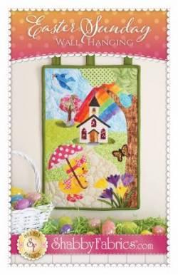 Nähanleitung Oster Wandquilt Easter Sunday Wall Hanging # SF49869