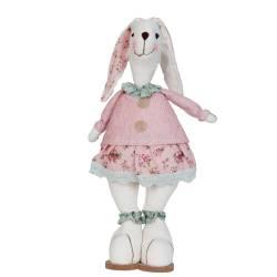 Oster Dekoration Hase Bunny Kaninchen Mädchen Girl 51cm hoch