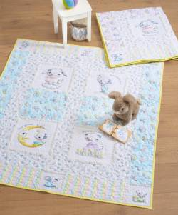 Materialpackung *Friends Forever* Flanell Kinder Quilt Junge 119x132cm