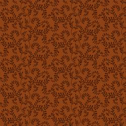 Patchworkstoff *Country Journey* Rust Winding Vines Ranken rostbraun HG2436-35