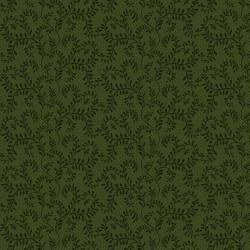 Patchworkstoff Quiltstoff *Country Journey* Green Winding Vines Ranken grün HG2436-66