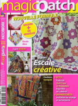 Patchwork Magazin Magic Patch 105 -Escale creative