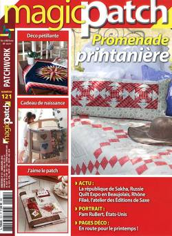 Patchwork Magazin Magic Patch 121 - Promenade printaniere