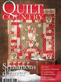 Patchwork Magazin Quilt Country 23 - Sensations d`hiver