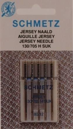 Nähmaschinen Nadel Schmetz Jersey 5St. SUK 130/705H 80/12