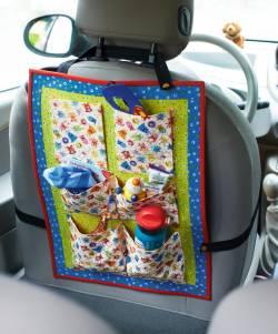 Materialpackung *Monster-Utensilo* zum Befestigen auf der Rückseite des Autositzes