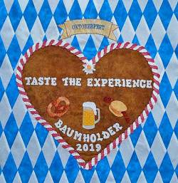 Nähanleitung / Pattern Row by Row 2019 Taste The Experience in Englisch
