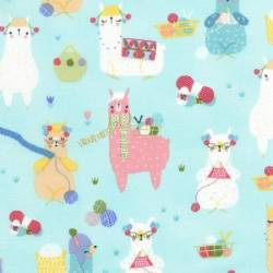 Patchworkstoff Stoff Quilt Fun Timeless Treasures  Alpacas