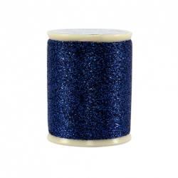 Razzle Dazzle Polyester Metallic Thread 8wt 110yds Ceylonese Sapphire