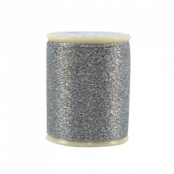 Razzle Dazzle Polyester Metallic Thread 8wt 110yds Sterling Silver