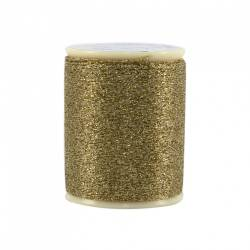 Razzle Dazzle Polyester Metallic Thread 8wt 110yds Gold Crown