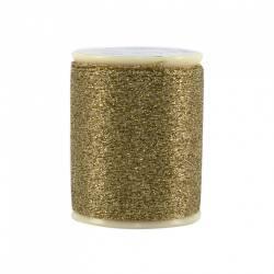 Razzle Dazzle Polyester Metallic Thread 8wt 110yds Gold Crown