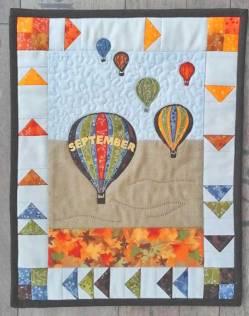 Materialpackung Wandquilt Monat *September* 28 x 33 cm MP21-0065