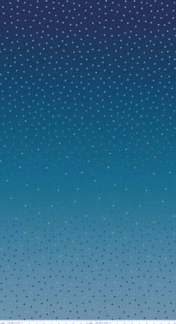 Patchworkstoff Quilt Farbverlaufsstoff midnightblue