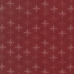 Patchworkstoff Quilt Stoff Schneeflocken rot Skandinavien  706912L-30