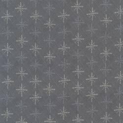 Patchworkstoff Quilt Stoff  Schneeflocken Weihnachten grau weiß 706912L-90