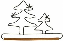 Dekobügel, Quilt Hänger 2 Bäume 19,05 cm / 7.5 Inch