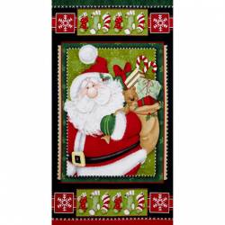 Patchworkstoff Weihnachten Panel Kringle Krossing