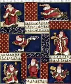Patchworkstoff Weihnachten Panel Dear Santa