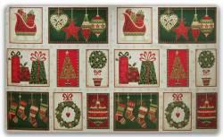 Patchworkstoff Weihnachten Panel Joyful Christmas Panel