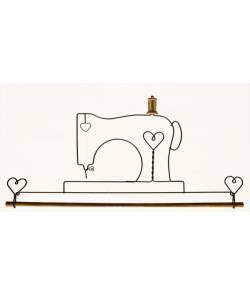 Dekobügel Quilt Hänger 55,9 cm *Nähmaschine* 22 Inch Sewing Machine AW2957