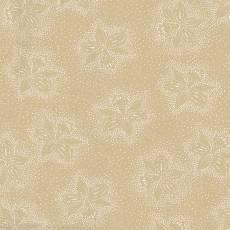Patchworkstoff Quilt Stoff Rückseitenstoff Breite 108 Inch beige mit gepunkteten Blumen