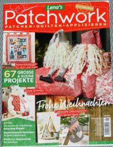 Lena`s Patchwork Magazin 78/2019  Frohe Weihnachten