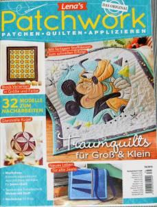 Lena`s Patchwork Magazin 79/2019 Traumquilts fuer Groß & Klein