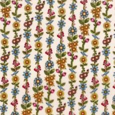 Patchworkstoff Quilt Stoff Butterfly Schmetterlinge Blumen von Lori Art Garden Streifenmuster