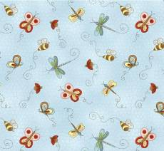 Patchworkstoff Quilt Stoff Frühling *Cottage Charm* by Henry Glass
