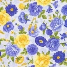 Patchworkstoff Quilt Stoff Timeless Treasures  *Angelica* mit schönen Rosen