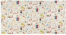 Patchworkstoff Quilt Stoff *Row Cream* Küchenmotive